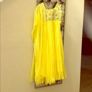 Bollywood Anarkali/shalwar suit